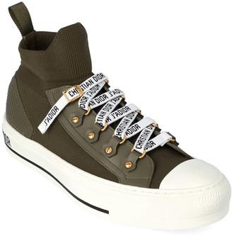 Christian Dior Walk'n'dior Knit & Leather Sneaker