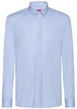 HUGO Extra slim-fit shirt in stretch cotton