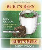 Burt's Bees ~ Mint Cocoa Lip Balm Flavored Lip Gloss ~ 2015 Limited Edition .15oz (Quantity 1) by