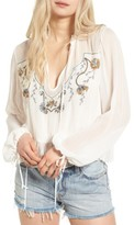 Somedays Lovin Women's Marigold Embellished Top