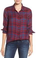 Lucky Brand 'Bungalow Plaid' Button Back Shirt