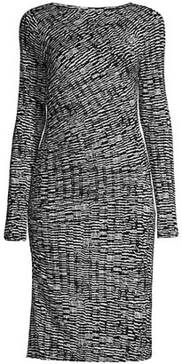 HUGO BOSS Ejay Printed Jersey Dress