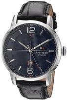Tommy Hilfiger Men's 1791216 George Analog Display Japanese Quartz Black Watch
