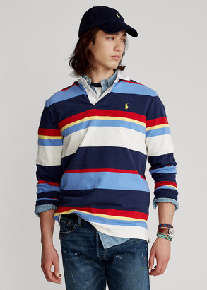 Ralph Lauren Striped Jersey Rugby Shirt