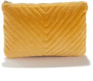 La Redoute La Cotton Velvet Toilet Bag or Purse