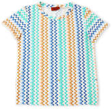 Missoni Girls 7-16) Zigzag Tee