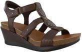 Minnetonka Women's Della Strappy Wedge Sandal