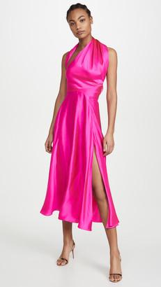 Azeeza Midi Dress with Slit