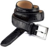 Charles Tyrwhitt Black Embossed Croc Formal Belt Size 46-48