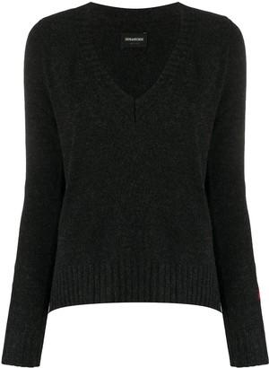Zadig & Voltaire Monogram-Jacquard Sweater