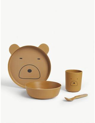 Liewood Leo bamboo tableware set