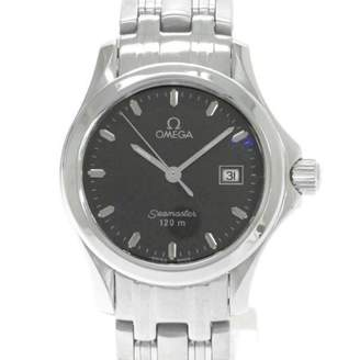 Omega Seamaster Grey Steel Watches