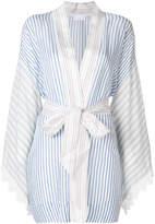 P.A.R.O.S.H. striped wrap jacket
