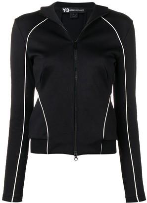 Y-3 piped trim jacket
