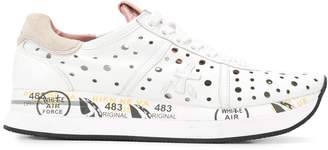 Premiata Conny perforated sneakers