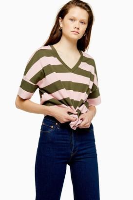 Selected Womens **Mini Stripe T-Shirt By Multi