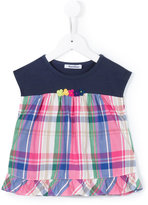 Familiar plaid blouse - kids - Polyester/Rayon - 2 yrs