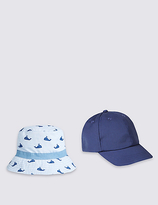 Marks and Spencer Kids' 2 Piece Cap & Hat