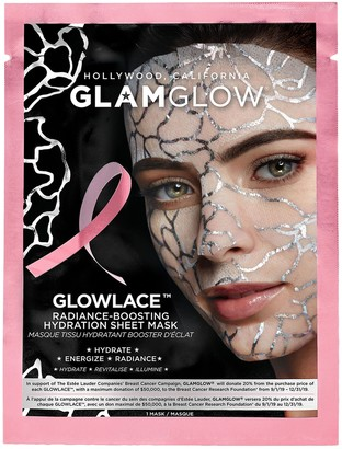 Glamglow GLOWLACE Radiance Boosting Hydration Sheet Mask - Breast Cancer Campaign Edition