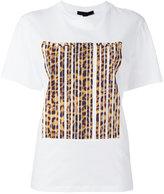 Alexander Wang - t-shirt imprimé code