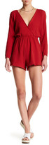 The Fifth Label Sweet Disposition Deep V-Neck Romper
