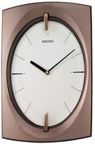 Seiko Oval Dial Rectangular Wall Clock