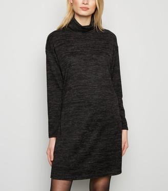 New Look Fine Knit Roll Neck Jumper Dress