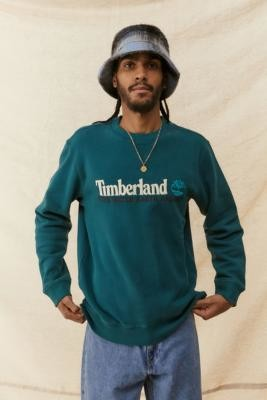 Timberland UO Exclusive Green Wind, Water, Earth and Sky Sweatshirt - Green S at Urban Outfitters