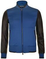 DKNY Sleeve Varsity Jacket