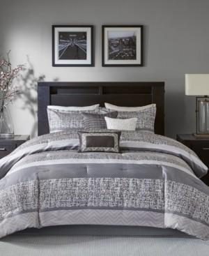 Madison Home USA Rhapsody 7-Pc. Queen Comforter Set Bedding