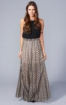 MUMU Princess Ariel Ballgown Maxi Skirt ~ Black Diamond