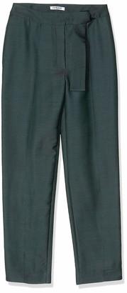 Cacharel Women's Pantalon Fendu Ceinture Trouser