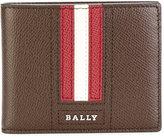 Bally striped logo wallet