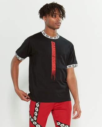 Damir Doma X Lotto Stripe Detail Short Sleeve Tee