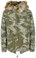 Mr & Mrs Italy camouflage short parka