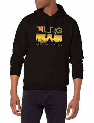 Lrg Men's Lifted Research Collection Pullover Drawstring Hoodie