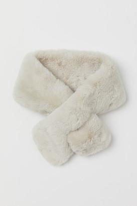H&M Faux Fur Scarf