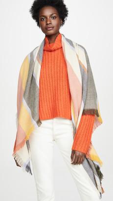 Madewell Stripe Blanket Scarf
