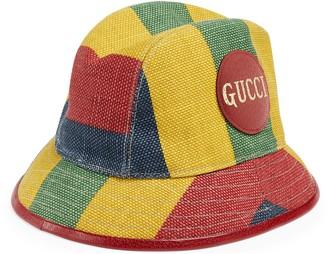 Gucci Baiadera stripe fedora