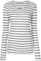 Etoile Isabel Marant striped jumper - women - Cotton/Linen/Flax - XS