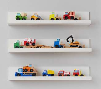 Pottery Barn Kids Toy Ledge, White