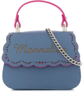 MonnaLisa Logo Shoulder Bag