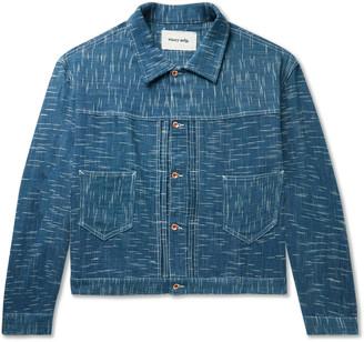 Story mfg. Sundae Indigo-Dyed Organic Denim Jacket - Men - Blue