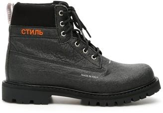 Heron Preston Worker Ankle Boots