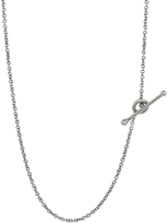 Cathy Waterman 20 Inch Fine Platinum Chain Necklace