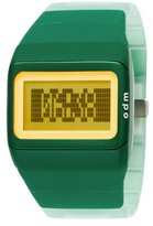 o.d.m. Unisex SDD99B-5 Link Series Green Programmable Digital Watch