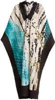 Issey Miyake Retrospect 1 pleated fringe-trimmed kaftan