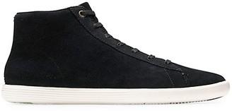 Cole Haan Grand Crosscourt High Top Suede Sneakers