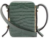 Lutz Morris - Norman Contrast-panel Leather Cross-body Bag - Womens - Green