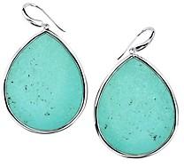 Ippolita Sterling Silver Ondine Turquoise Teardrop Earrings